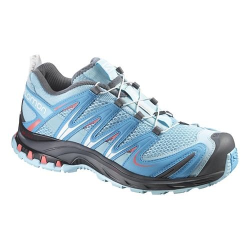 Womens Salomon XA Pro 3D Trail Running Shoe - Air/Blue 10