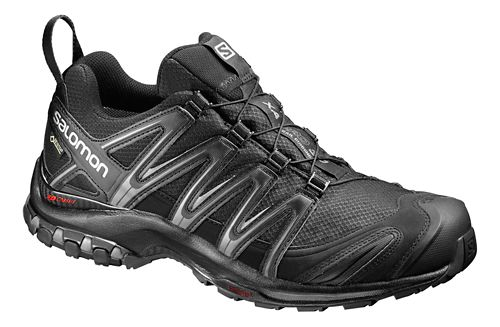 Mens Salomon XA Pro 3D GTX Trail Running Shoe - Black/Magnet 7.5