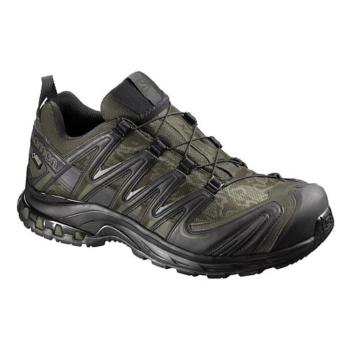 Mens Salomon XA Pro 3D GTX Trail Running Shoe - Camo 7.5