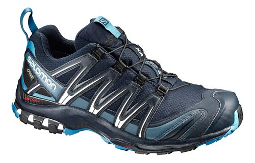 Mens Salomon XA Pro 3D GTX Trail Running Shoe - Navy 7