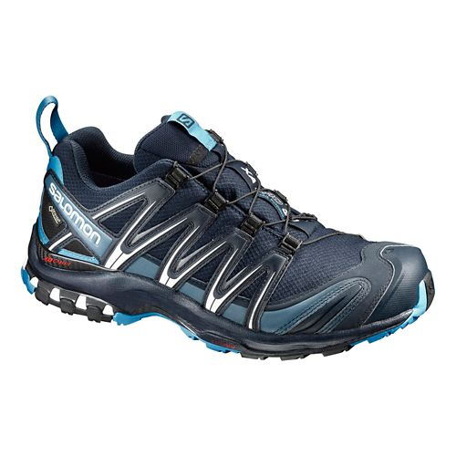 Mens Salomon XA Pro 3D GTX Trail Running Shoe - Navy 13