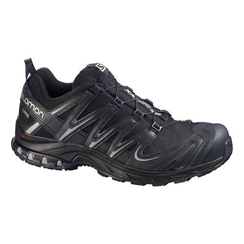 Mens Salomon XA Pro 3D GTX Trail Running Shoe - Black/Black 8