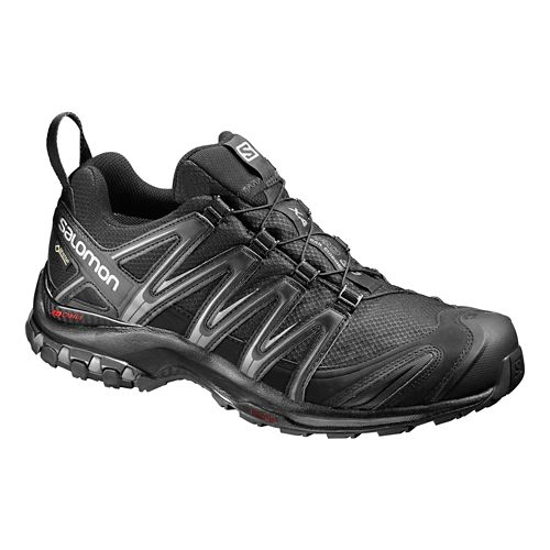 Mens Salomon XA Pro 3D GTX Trail Running Shoe - Black/Black 11.5