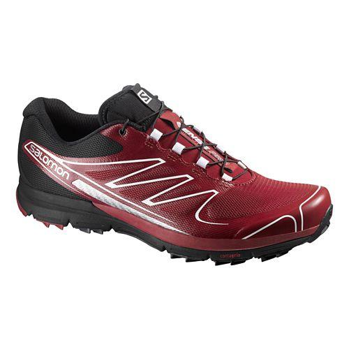 Mens Salomon Sense Pro Trail Running Shoe - Flea/Black 10.5