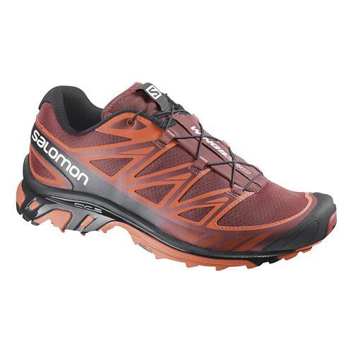 Mens Salomon Wings Pro Trail Running Shoe - Flea/Tomato 13