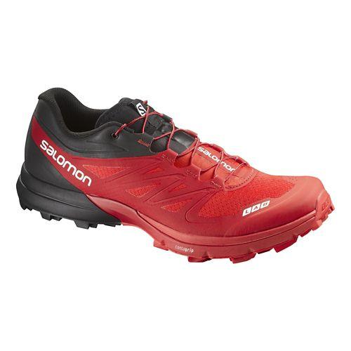 Salomon S-Lab Sense 4 Ultra SG Trail Running Shoe - Red/Black 9