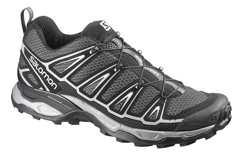 Mens Salomon X-Ultra 2 Hiking Shoe - Black/Steel Grey 10