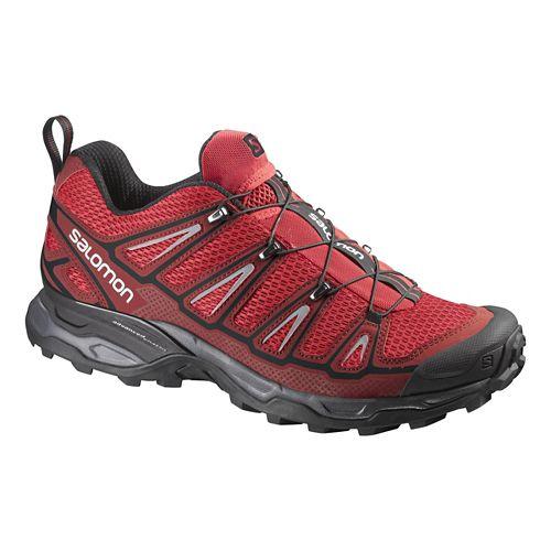 Mens Salomon X-Ultra 2 Hiking Shoe - Red/Black 9