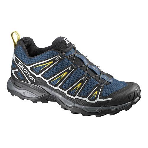 Mens Salomon X-Ultra 2 Hiking Shoe - Navy/Black 7