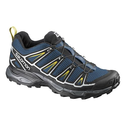 Mens Salomon X-Ultra 2 Hiking Shoe - Navy/Black 7.5