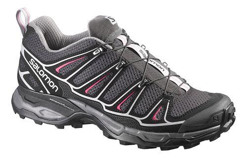 Womens Salomon X-Ultra 2 Hiking Shoe - Black/Pink 5.5