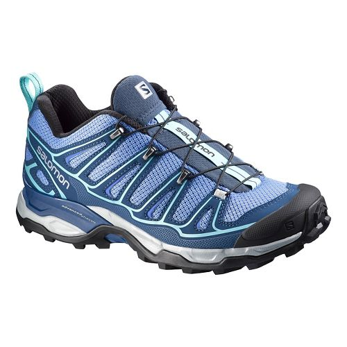 Womens Salomon X-Ultra 2 Hiking Shoe - Violet/Midnight 6.5