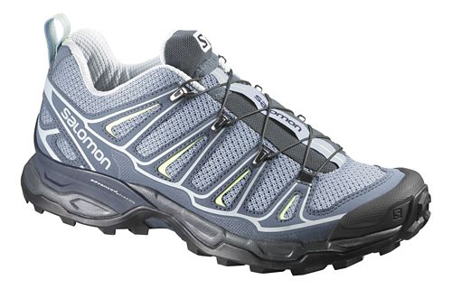 Womens Salomon X-Ultra 2 Hiking Shoe - Light Blue/Grey 7.5