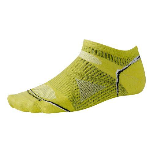 Smartwool PhD Run Ultra Light Micro Socks - Green Glow L