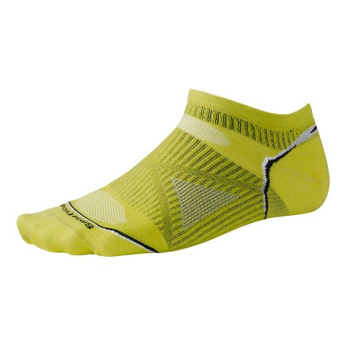 Smartwool PhD Run Ultra Light Micro Socks - Green Glow M