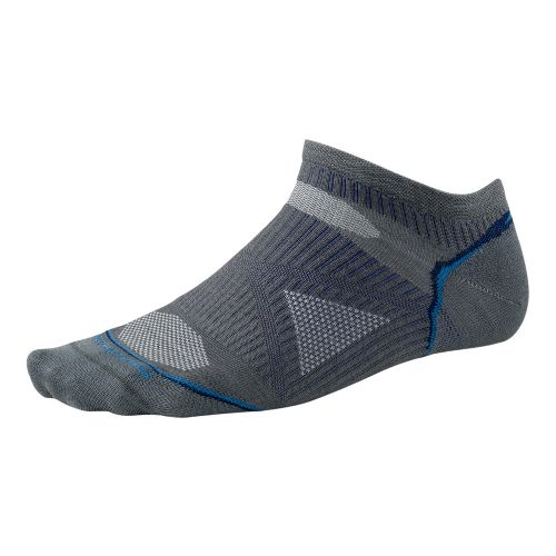 Smartwool PhD Run Ultra Light Micro Socks - Graphite L