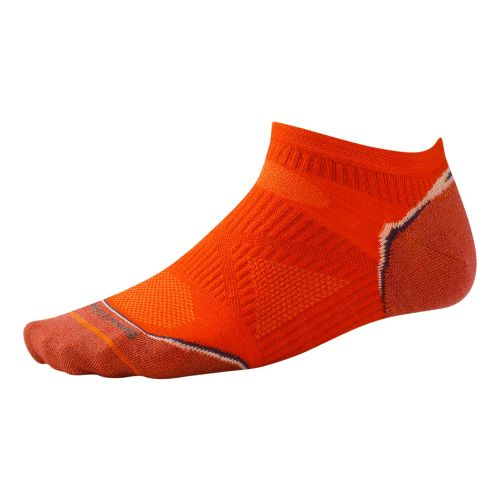 Smartwool PhD Run Ultra Light Micro Socks - Orange L