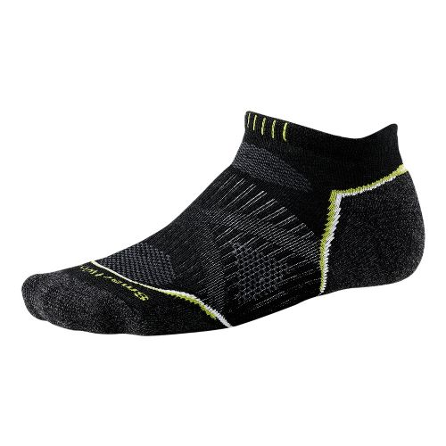 Smartwool PhD Run Light Micro Socks - Black L