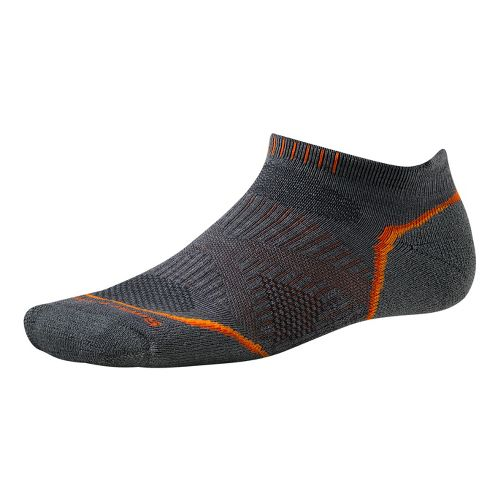 Smartwool PhD Run Light Micro Socks - Graphite M