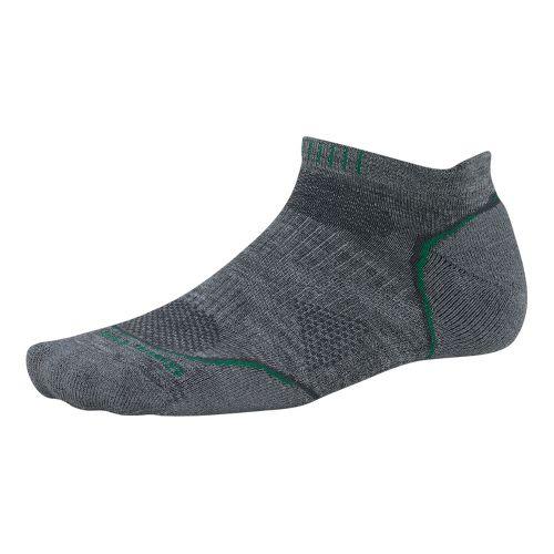 Smartwool PhD Run Light Micro Socks - Grey L
