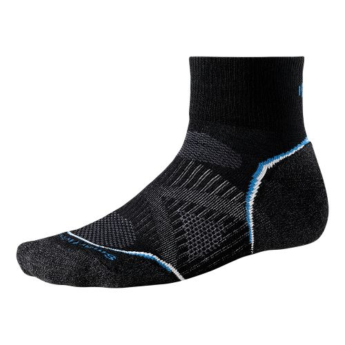 Smartwool PhD Run Light Mini Socks - Black L