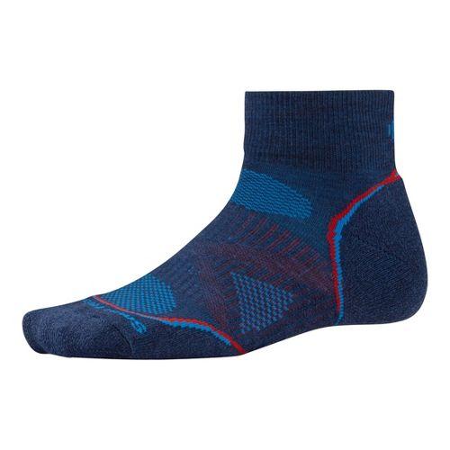 Smartwool PhD Run Light Mini Socks - Navy M