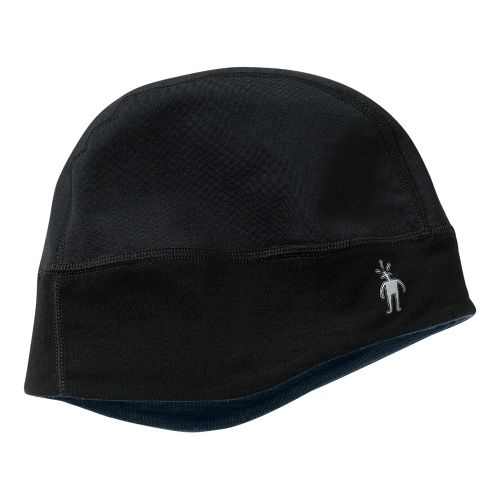 Smartwool PhD HyFi Training Beanie Headwear - Black/Navy