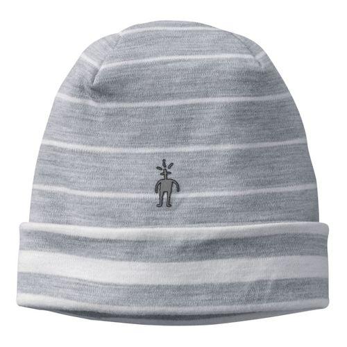 Smartwool Reversible Pattern Cuffed Beanie Headwear - Silver Grey