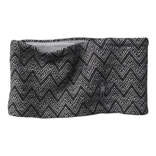 Smartwool Reversible Pattern Headband Headwear - Black