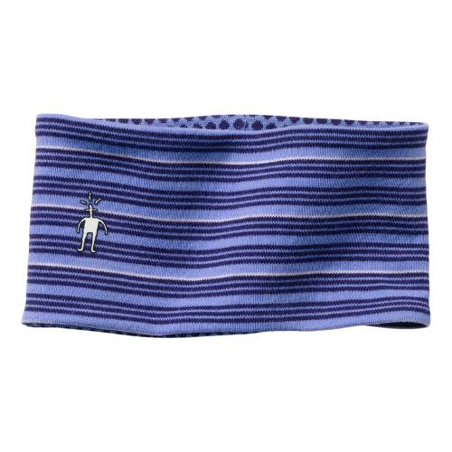 Smartwool Reversible Pattern Headband Headwear - Purple