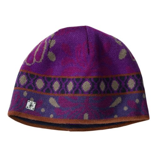 Smartwool Reflections Flower Hat Headwear - Purple