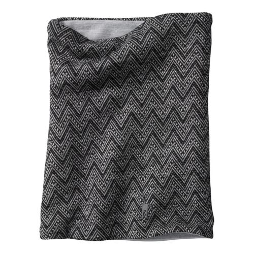 Smartwool Reversible Pattern Neck Gaiter Headwear - Black
