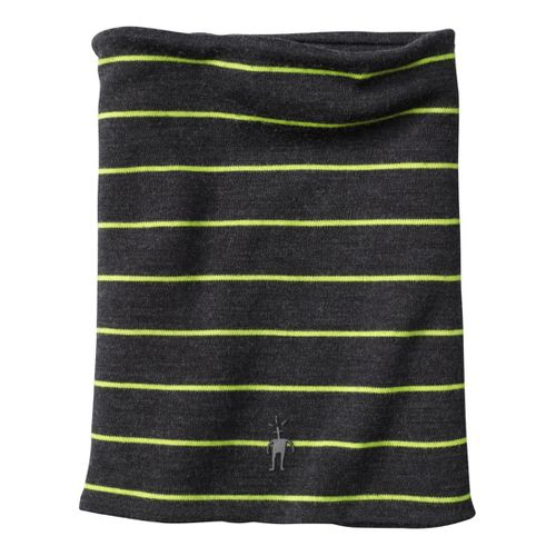 Smartwool Reversible Pattern Neck Gaiter Headwear - Charcoal Heather