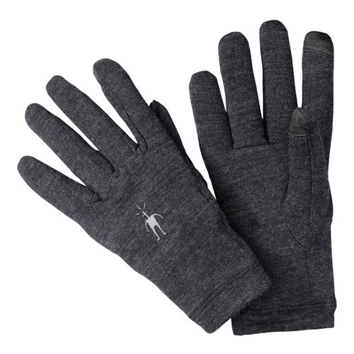 Smartwool NTS Mid 250 Gloves Handwear - Charcoal L