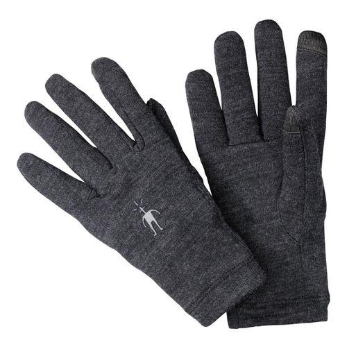 Smartwool NTS Mid 250 Gloves Handwear - Charcoal M