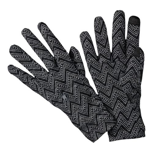 Smartwool NTS Mid 250 Pattern Gloves Handwear - Black M