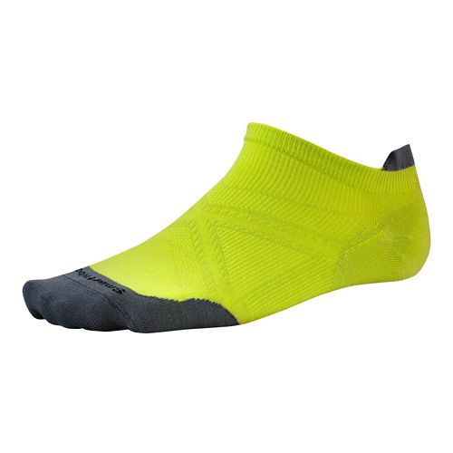 Smartwool PhD Run Ultra Light Micro Socks - Green/Green L