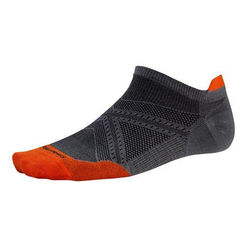Smartwool PhD Run Ultra Light Micro Socks - Graphite M
