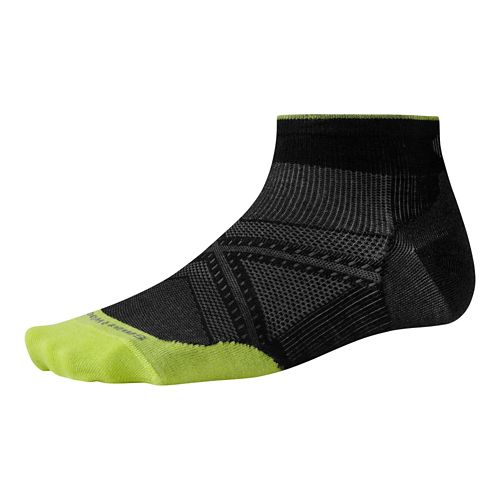 Smartwool PhD Run Ultra Light Low Cut Socks - Black L
