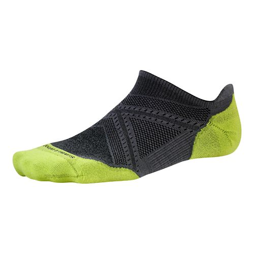 Smartwool PhD Run Light Elite Micro Socks - Graphite M