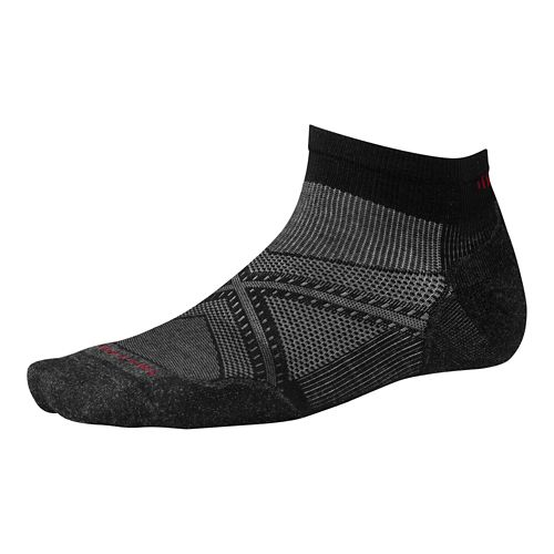 Smartwool PhD Run Light Elite Low Cut Socks - Black L