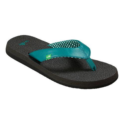 Womens Sanuk Yoga Mat Sandals Shoe - Evergreen 7