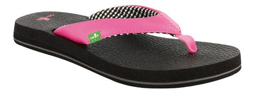 Womens Sanuk Yoga Mat Sandals Shoe - Pink 6