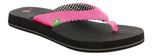 Womens Sanuk Yoga Mat Sandals Shoe - Black 11