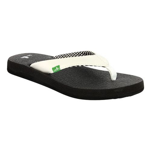 Womens Sanuk Yoga Mat Sandals Shoe - White 6