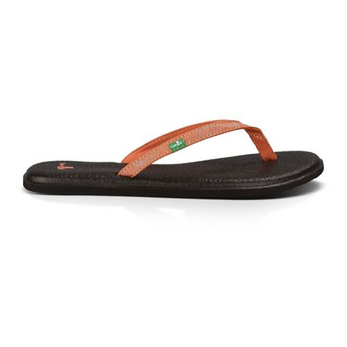 Womens Sanuk Yoga Spree 2 Sandals Shoe - Coral 8