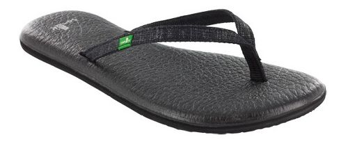 Womens Sanuk Yoga Spree 2 Sandals Shoe - Black 11