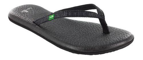 Womens Sanuk Yoga Spree 2 Sandals Shoe - Black 5