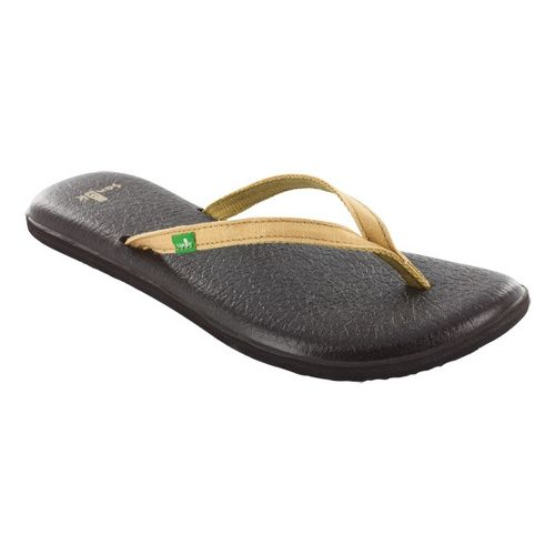 Womens Sanuk Yoga Spree 2 Sandals Shoe - Gold 10