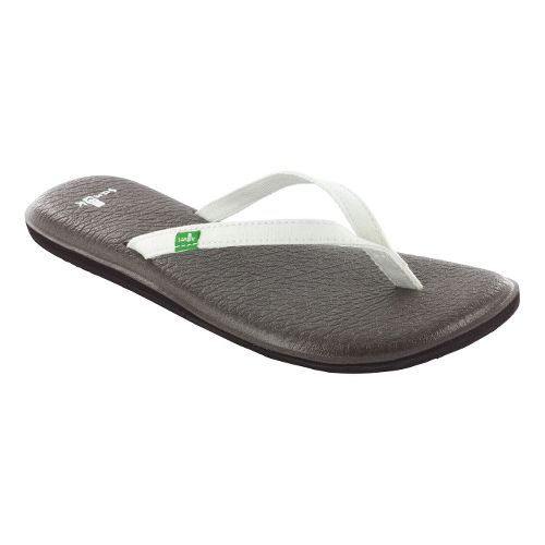 Womens Sanuk Yoga Spree 2 Sandals Shoe - White 10